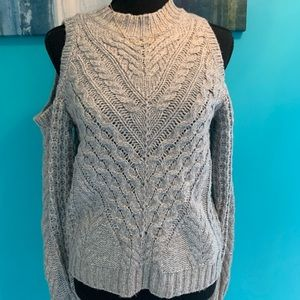 Express cold shoulder sweater !
